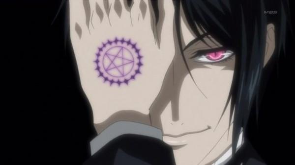 картинки аниме тёмный дворецкий:
